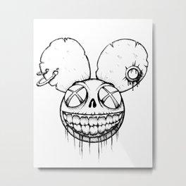 Undead mouse Metal Print