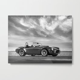 The AC Shelby Cobra Metal Print