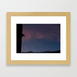 Universal connection III Framed Art Print