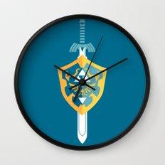 A Hero's Arsenal Wall Clock