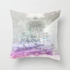 Colored Peak Throw Pillow