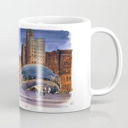 Cloud Gate Nocturne Coffee Mug