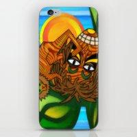 jojo iPhone & iPod Skins featuring Congo JoJo by BohemianBound