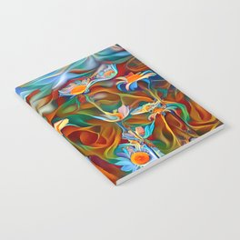 Psychedelic Daises Notebook