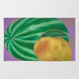 Watermelon Mango Rug