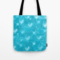 skyfall Tote Bags featuring SkyFall by KRArtwork