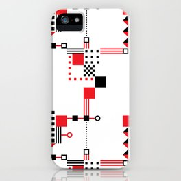 Tekno Abstrakt iPhone Case
