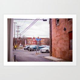 Harrisburg Sidestreet Art Print