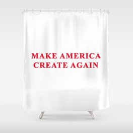 M.A.C.A. Shower Curtain