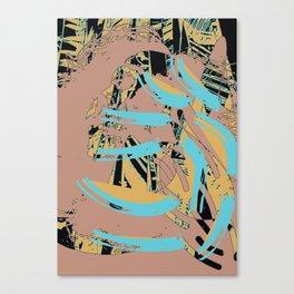 Wisp of the brush Canvas Print