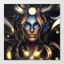 Horned One Canvas Print