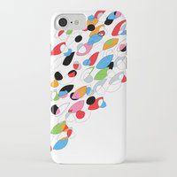 swimming iPhone & iPod Cases featuring Swimming by Nicki Traikos