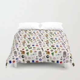 Lucky charms pattern Duvet Cover