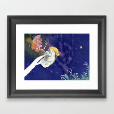 lilies of the valley Framed Art Print