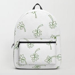 Lucky You Clover Backpack