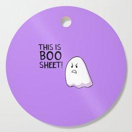 Grumpy Ghost Cutting Board