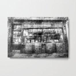 Ye Old Shambles Tavern York Vintage Metal Print