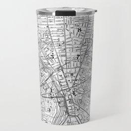 Vintage Map of Rochester NY (1901) BW Travel Mug