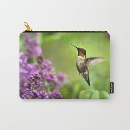 Hummingbirds Welcome Carry-All Pouch