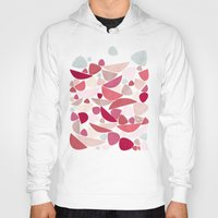 bed Hoodies featuring Sea Bed by Nic Squirrell