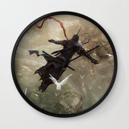 Assassin fight Wall Clock