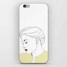 The Woman iPhone & iPod Skin