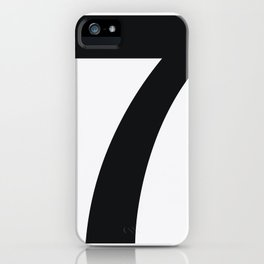 Nº7. Helvetica Posters by empatía® iPhone Case