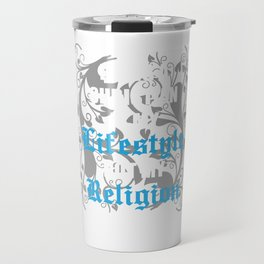Being a Christian is My Lifestyle Not My Religion T-shirt Travel Mug