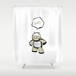 minima - mr. pal Shower Curtain