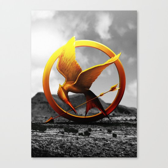 Hunger Games Canvas Print