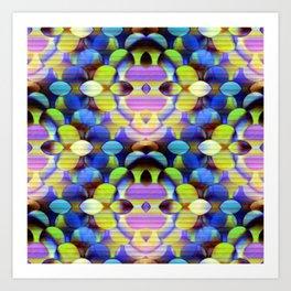Colorful Orbs Art Print