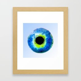 Damn your Eyes Framed Art Print