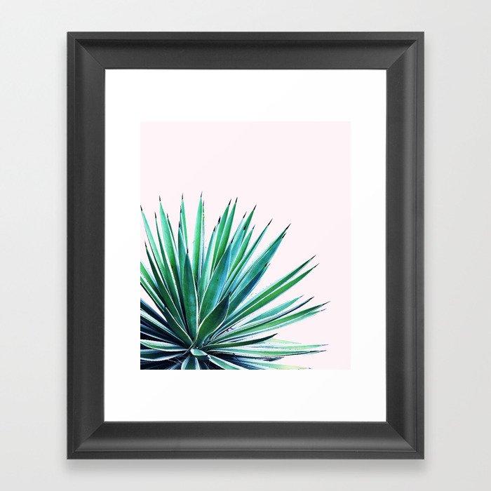 Agave Love Society6 Decor Buyart Framed Art Print By