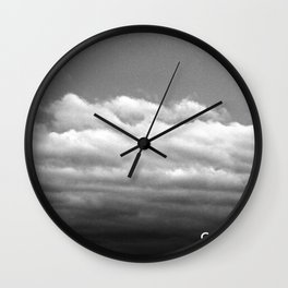 Circulate - Clouds Wall Clock