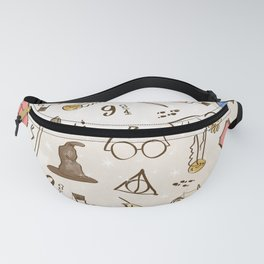 Wizarding Pattern Fanny Pack