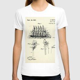 Ship's Rigging-1927 T-shirt