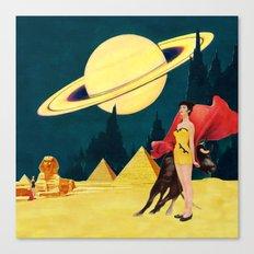 Yellow Summit Canvas Print