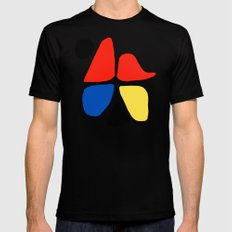 Tribute to A. Calder (n.1) Black Mens Fitted Tee MEDIUM