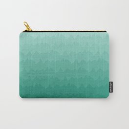 Emerald Peaks Carry-All Pouch