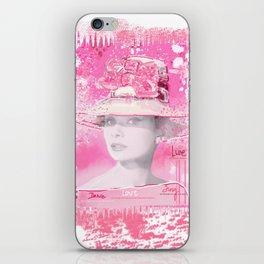 Happy Girl iPhone Skin