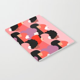 Together Girl Power - Pattern #girlpower Notebook