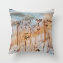 winterlight Throw Pillow