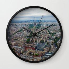 Eiffel Tower / Tour Eiffel - Paris, France Wall Clock