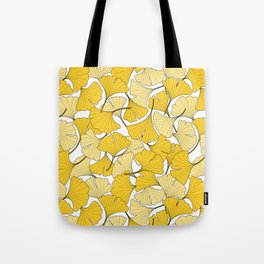 ginkgo leaves (yellow) Tote Bag