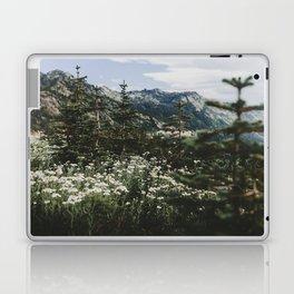 Mount Rainier Summer Wildflowers Laptop & iPad Skin