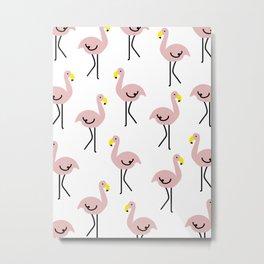 Flamingot Metal Print