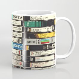 VHS Stack Coffee Mug