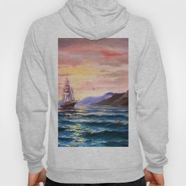 Morning in the sea Hoody