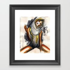 No7 Framed Art Print
