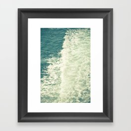 Sea Adventure - Ocean Crossing III Framed Art Print